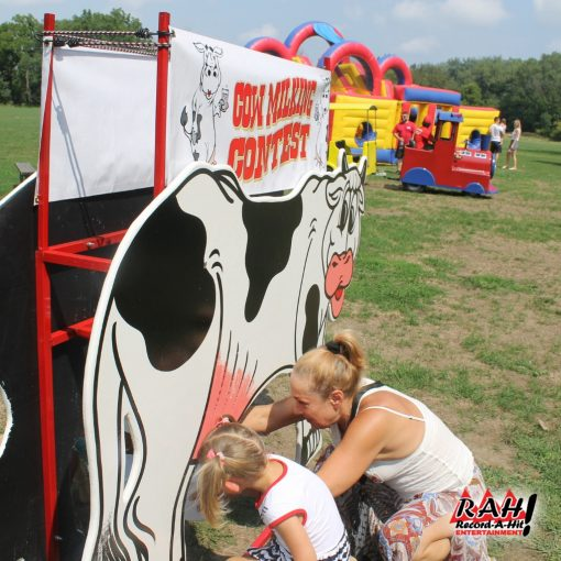 Cow Milking Contest Record A Hit 03