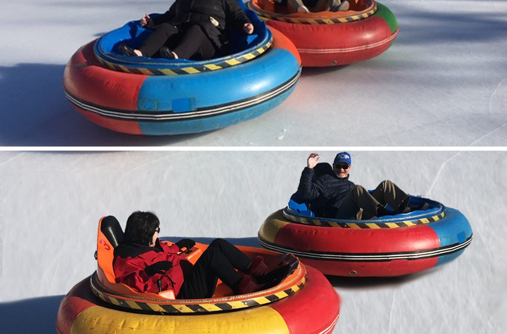 What's better than regular rental bumper cars? Rent our Bumper Cars on ICE!