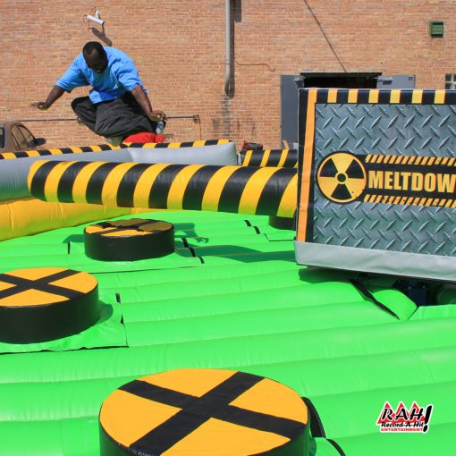 Meltdown - Obstacle Course Race Inflatable