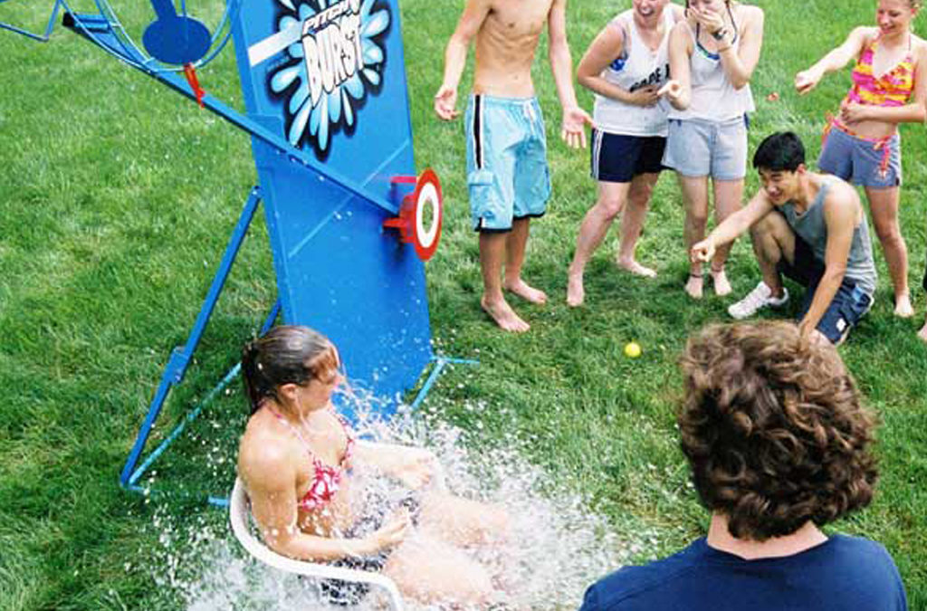 From water slide rentals to water balloon fights, what are the best 2020 water attraction rentals?