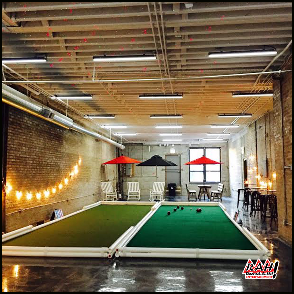 Bocce Ball Court Sports Game Record A Hit Entertainment Party