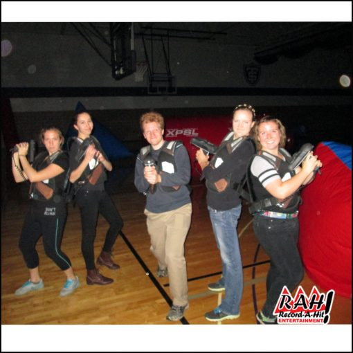 GLOW in the dark laser tag