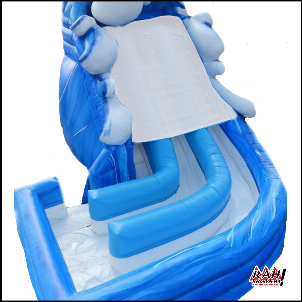 Super Splash Inflatable Water Slide
