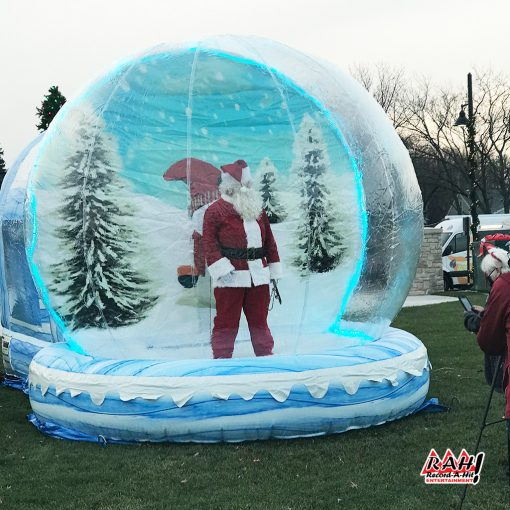 Inflatable-SnowGlobe-01-Record-A-Hit-Attraction