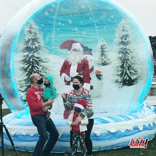 Inflatable-SnowGlobe-03-Record-A-Hit-Attraction