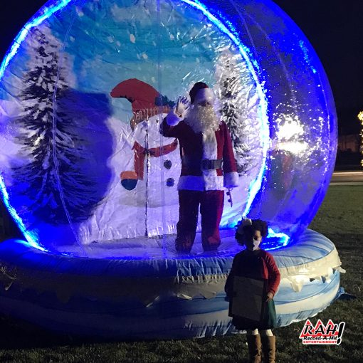 Inflatable-SnowGlobe-04-Record-A-Hit-Attraction
