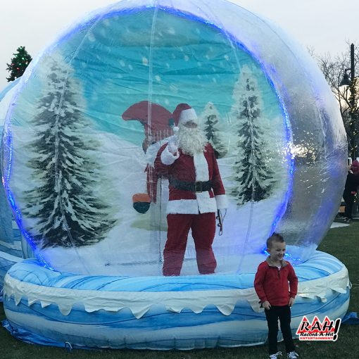 Inflatable-SnowGlobe-06-Record-A-Hit-Attraction