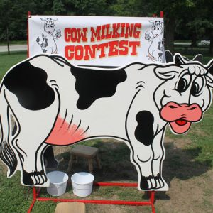 Cow Milking Contest General image